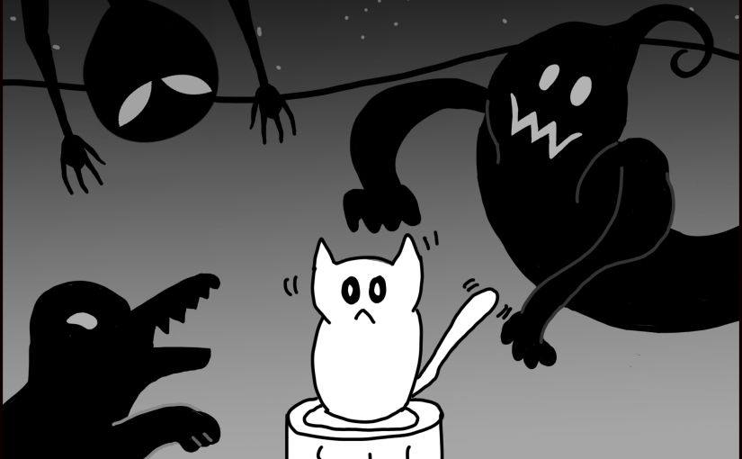 Tale of Litter Box Monster – Exclusive!